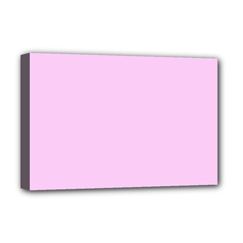 Soft Pink Deluxe Canvas 18  X 12   by snowwhitegirl