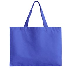 Lake Blue Zipper Mini Tote Bag by snowwhitegirl