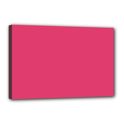 Rosey Day Canvas 18  X 12