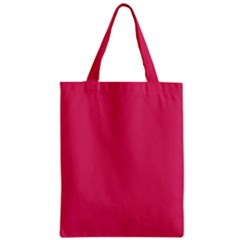 Rosey Day Zipper Classic Tote Bag by snowwhitegirl