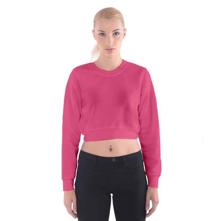 Rosey Day Cropped Sweatshirt