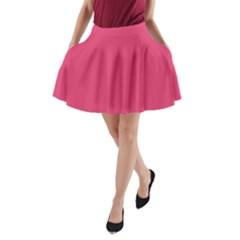 Rosey Day A Line Pocket Skirt by snowwhitegirl