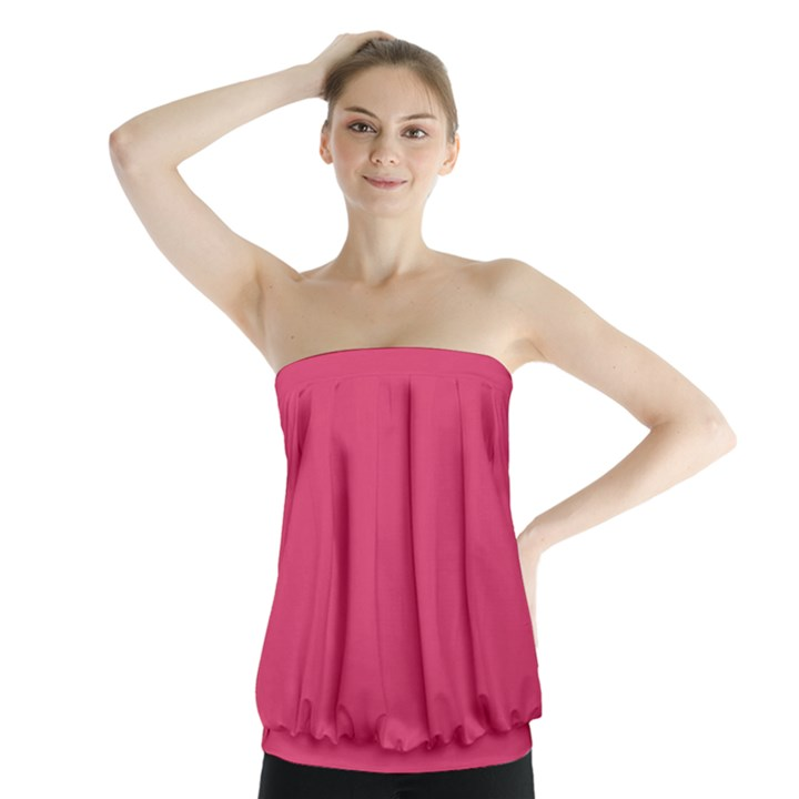 Rosey Day Strapless Top