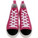 Rosey Day Men s Mid-Top Canvas Sneakers View1