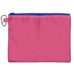 Rosey Day Canvas Cosmetic Bag (xxl)