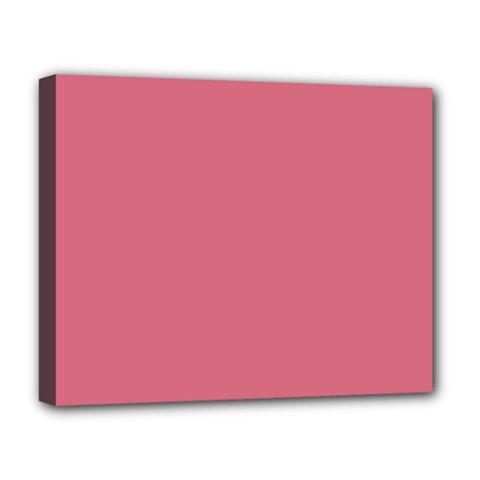 Rosey Deluxe Canvas 20  X 16   by snowwhitegirl