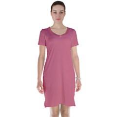 Rosey Short Sleeve Nightdress by snowwhitegirl