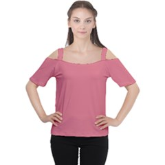 Rosey Cutout Shoulder Tee