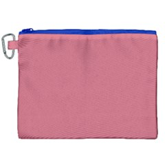 Rosey Canvas Cosmetic Bag (xxl) by snowwhitegirl