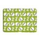 Skull Bone Mask Face White Green Samsung Galaxy Tab 2 (10.1 ) P5100 Hardshell Case  View1
