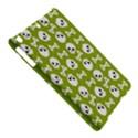 Skull Bone Mask Face White Green iPad Air Hardshell Cases View5