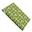 Skull Bone Mask Face White Green iPad Air 2 Hardshell Cases View5
