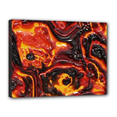 Lava Active Volcano Nature Canvas 16  X 12  by Alisyart