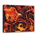 Lava Active Volcano Nature Deluxe Canvas 24  x 20   View1