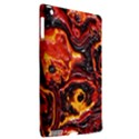 Lava Active Volcano Nature Apple iPad 3/4 Hardshell Case (Compatible with Smart Cover) View2