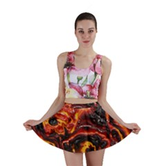 Lava Active Volcano Nature Mini Skirt by Alisyart