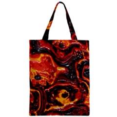 Lava Active Volcano Nature Zipper Classic Tote Bag