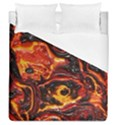 Lava Active Volcano Nature Duvet Cover (Queen Size) View1