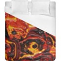 Lava Active Volcano Nature Duvet Cover (California King Size) View1