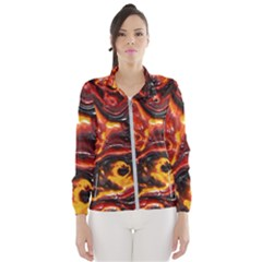 Lava Active Volcano Nature Wind Breaker (women)