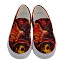 Lava Active Volcano Nature Women s Canvas Slip Ons View1