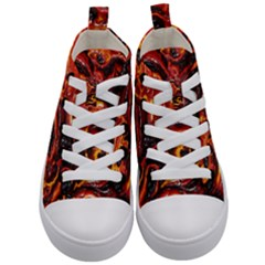 Lava Active Volcano Nature Kid s Mid Top Canvas Sneakers