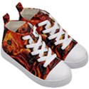 Lava Active Volcano Nature Kid s Mid-Top Canvas Sneakers View3