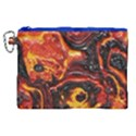 Lava Active Volcano Nature Canvas Cosmetic Bag (XL) View1