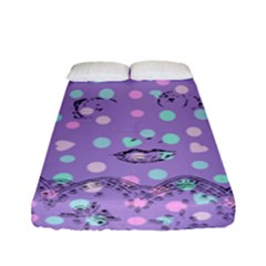 Little Face Fitted Sheet (full/ Double Size) by snowwhitegirl