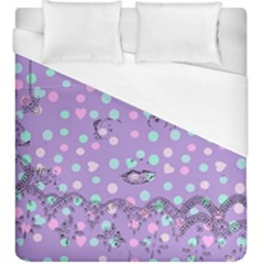 Little Face Duvet Cover (king Size) by snowwhitegirl