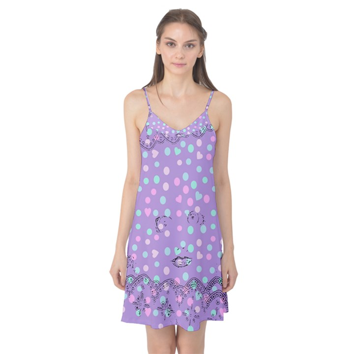 Little Face Camis Nightgown
