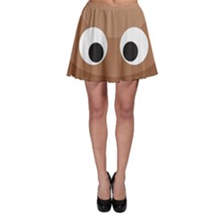 Poo Happens Skater Skirt