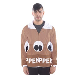 Poo Happens Hooded Wind Breaker (men)