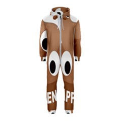 Poo Happens Hooded Jumpsuit (kids)