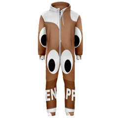 Poo Happens Hooded Jumpsuit (men)