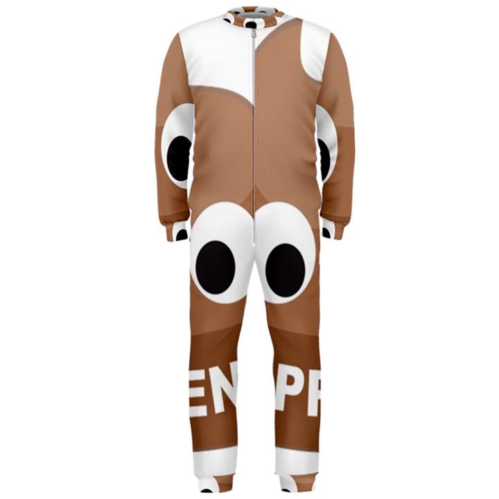 Poo Happens OnePiece Jumpsuit (Men)