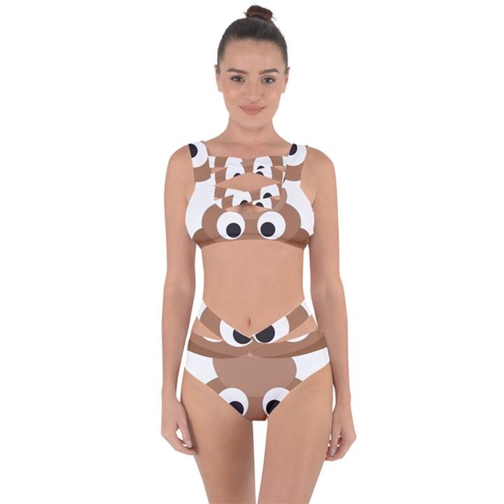 Poo Happens Bandaged Up Bikini Set