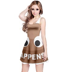 Poo Happens Reversible Sleeveless Dress
