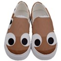 Poo Happens Men s Canvas Slip Ons View1