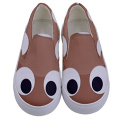 Poo Happens Kids  Canvas Slip Ons