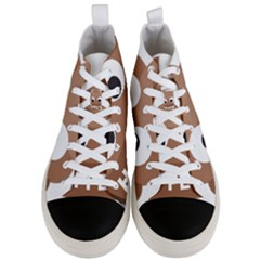Poo Happens Men s Mid Top Canvas Sneakers