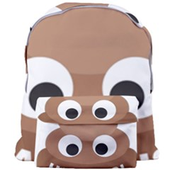 Poo Happens Giant Full Print Backpack by Vitalitee
