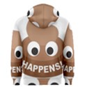 Poo Happens Men s Zipper Hoodie View2