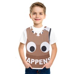 Poo Happens Kids  Sportswear by Vitalitee