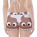 Poo Happens Boyleg Bikini Wrap Bottoms View2