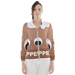 Poo Happens Wind Breaker (women)
