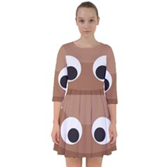 Poo Happens Smock Dress
