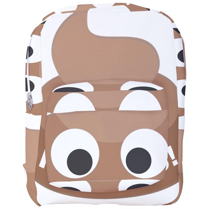 Poo Happens Full Print Backpack