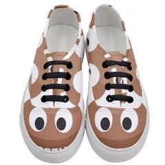Poo Happens Women s Classic Low Top Sneakers