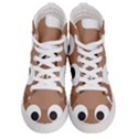 Poo Happens Men s Hi-Top Skate Sneakers View1
